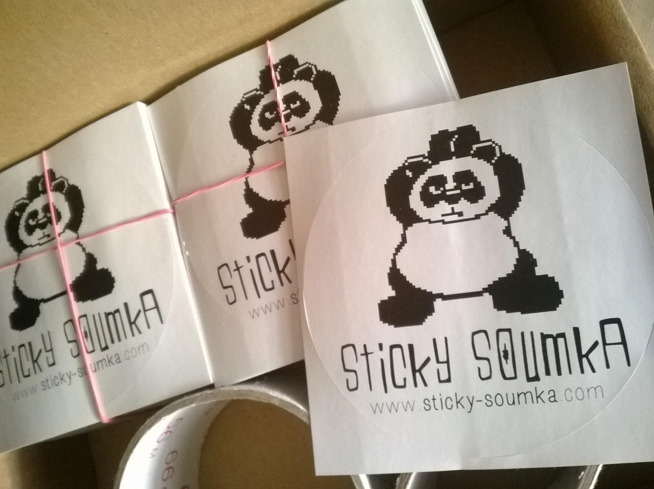 sticky stickers