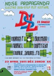 Noise Propaganda festival électro-dubstep DSL Ed Banger à Tamines en Belgique