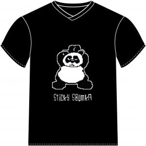 T-shirt Panda Sticky Soumka by Watosay 2012